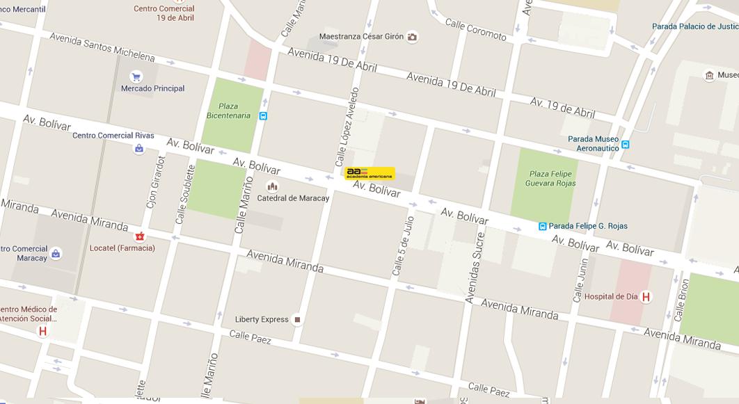 Av. Bolívar con Calle López Aveledo, Torre Comercial Venaragua, Torre IV, Piso2 al lado del Santuario de la Madre María de San José Telfs: 0243-246.89.71 / 87.44